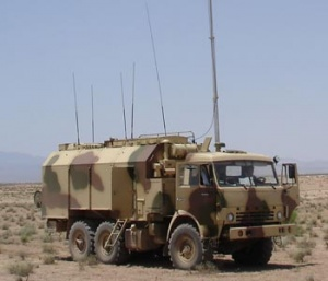 Mobile unified battery command post  Ranzhir M1