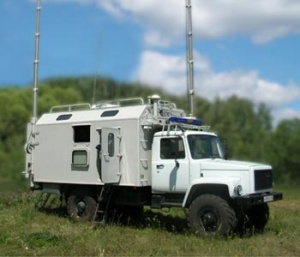 Mobile control complex for Ministry of Internal Affairs (Ministry of Emergency Situations)