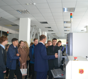 Radiozavod conducted excursion for pupils of Penza Lyceum of information technologies № 73