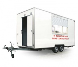 Mobile dental room КСП-01 «П-Р-З»
